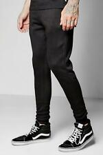 Boohoo Skinny Fit Joggers With Zip Pockets per Uomo