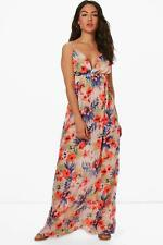 Boohoo Maddison Hawaiin Floral Maxi Beach Dress para Mujer