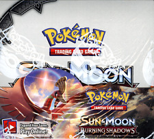 POKEMON TCG SUN & MOON BURNING SHADOWS BOOSTER SEALED BOX FLASH SALE WEEKEND!!!