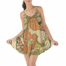 Art Deco Paris Beach Cover Up Dress