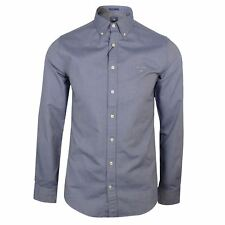 GANT The Oxford Hombre Persa Azul Camisa de manga larga