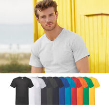 5er Pack Fruit Of The Loom Valueweight Cuello V Camiseta S M L XL XXL 3XL 4XL