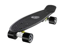 Mini Cruiser Skate Completo 55cm 70mm Ruedas Big Wheel Skateboard Ridge 22""