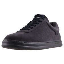 Camper Runner Four Mens Grey Suede Casual Trainers Lace-up Genuine Shoes