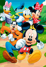 Mickey Mouse - Classic Animation 3D Poster Lentinticular