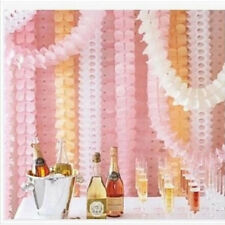 Garland New Tissue String Hanging Clovers Party Paper Decoration 3.6m