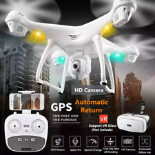 S70W 2.4GHz GPS FPV RC Drone Quadcopter with 1080P HD Camera Wifi Headless Mode
