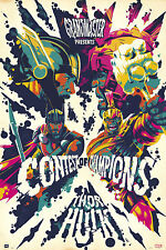 Marvel - Contest of Champion - Hulk VS Thor - Poster - Größe 61x91,5cm
