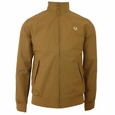 Fred Perry giacca BRENTHAM UOMO BRONZO CLASSICO HARRINGTON