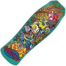 Santa Cruz Christian Hosoi Collage Candy Metallic Mint Reissue Deck