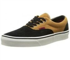 baskets vans u era noir marron, chaussure mode mix homme vans g32vans040