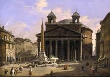 Photo Print View of the Pantheon, Rome Caffi, Ippolito - in various sizes jwg-19