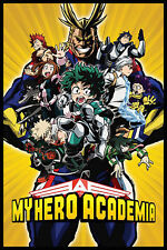 My Hero Academia - Character - Filmposter TV-Serie - Poster - Größe 61x91,5 cm