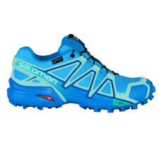 Salomon Speedcross 4 GTX Goretex Aquarius Spiaggia Donna Outdoor Stivali Blu