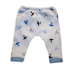 Baby Boy's Cute Airplane Pants. 4 Sizes for Preemie and Newborns to 0-3 Months.