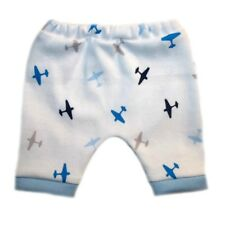 Baby Boy's Cute Airplane Shorts. 4 Sizes for Preemie and Newborns to 0-3 Months.