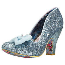 Irregular Choice Nick Of Time Femmes Chaussures Pastel Blue Neuf Chaussure