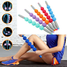 Yoga Spiky Ball Trigger Point Muscle Therapy Stick Roller Spikey Massage Rolling