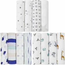 Aden + Anais CLASSIC SWADDLES 4 PACK Baby Bedding 100% Cotton Muslin BN