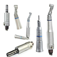 dental Contra Angle Straight Low Speed Handpiece Air Motor pièce à main NSK type