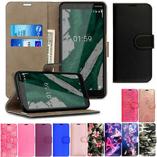 For Nokia 2 3 5 6 7 8 3.1 5.1 Leather Wallet Book Flip Case Cover lumia case
