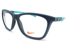 NIKE +0.25 to +3.50 Reading Glasses Satin Space Blue / Hyper Jade NK7088 418
