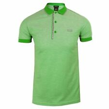 HUGO BOSS POLO SHIRT PAULE 4 MENS GREEN TOP