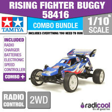 COMBO DEAL! 58416 TAMIYA RISING FIGHTER BUGGY 1/10th R/C KIT RADIO CONTROL