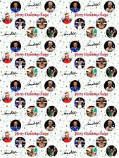 Conor McGregor Personalised Christmas Wrapping Paper ADD NAME CHOOSE BACKGROUND
