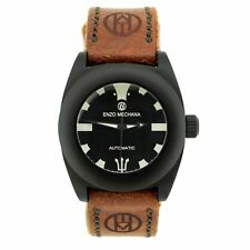 Enzo Mechana MARE NERO Limited Edition handmade Automatic Divers Watch