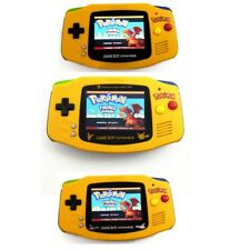 Pokemon Mix Color Game Boy Advance Game Console With AGS-101 Backlight LCD