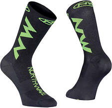 Calzini Estivi Northwave EXTREME AIR Black/Lime Fluo/SUMMER SOCKS NORTHWAVE