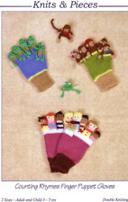 SANDRA POLLEY novelty gloves and hats knitting patterns