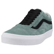 Vans Old Skool Oversized Lace Hombres Green Black Ante Zapatillas