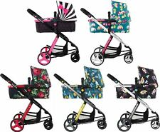 Cosatto GIGGLE-2 TRAVEL SYSTEM Buggy/Carry Cot/Changing Bag Baby/Toddler BN