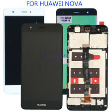 Huawei Nova CAZ-AL10 CAN-L01 TOUCH SCREEN Digitizer LCD DISPLAY Assembly + Frame