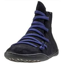 Camper Peu Cami Mid Womens Black Leather Ankle Boots