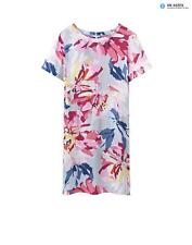 Joules Women's Krista Woven Dress - Silver Whitstable Floral Y_KRISTA