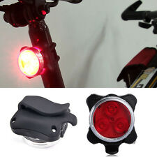 USB Rechargeable Cycling Bicycle Bike 3 LED Head Front Rear Tail Light Lamp Set
