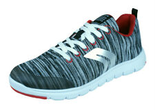 Geox J Xunday B L Boys Trainers / Woven Textile Shoes - Grey - RRP: £64.95