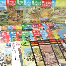 Vintage Miniature Wargames Army & Navy Modelworld Wargames Illustrated Magazines