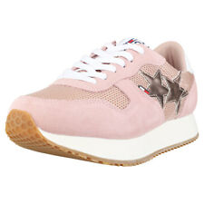 Tommy Hilfiger Tommy Jeans Star Sneaker Mujeres Rose Ante y Malla Zapatillas