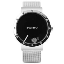 2018 New Arrival PAIDU Men Sport Quartz Wrist Watch Mesh Steel Band Bracelet