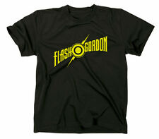 Flash Gordon Camiseta, Culto Retro Comic Logo Camisa de la Fan fan
