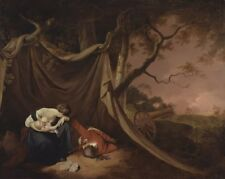 Dead Soldier Joseph Wright Derby 1789 Art Photo/Poster Repro Print Many Sizes