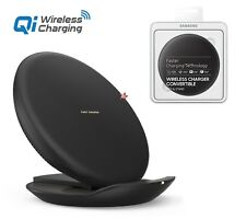 Qi Fast Rapide Stand Recharge Chargeur WiFi sans fil pour Samsung iPhone
