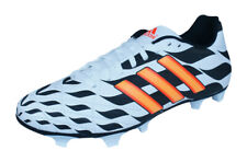 uk availability 11932 7f6cc Mens adidas Firm Ground Football Boots 11 Questra FG WC Soccer Cleats -  White