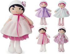 Kaloo MY FIRST DOLL Baby/Toddler/Child Soft Toy Azure/Fleur/Rose/Perle BN