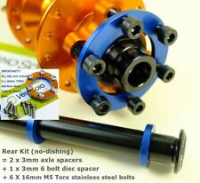 VeloSolo BOOST HUB ADAPTER Conversion spacer KIT 100mm 110mm 142mm 148mm Axle