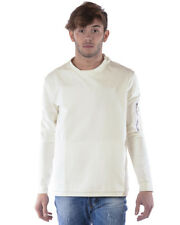 Imperial Sweatshirt 65€ -50% Herren MADE IN ITALY Weiß F065TEG-